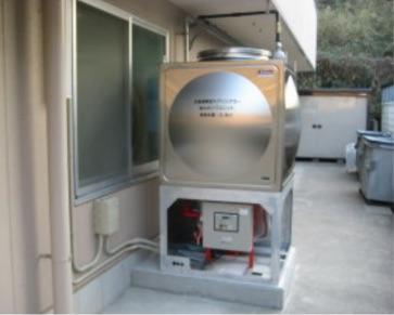 直結・受水槽補助水槽併用式の消火ポンプユニット